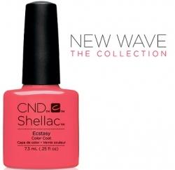 CND Shellac цвет Ecstasy, 7,3 мл. (Розовый) №91410
