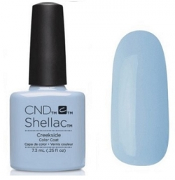 CND Shellac Creekside 7,3мл (Пастельный светло-голубой, плотный) №780