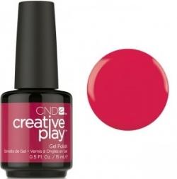 Гель лак CND Creative Play™ Gel Polish цвет Well Red 15 мл №411