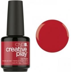 Гель лак CND Creative Play™ Gel Polish цвет Red Y To Roll 15 мл (красный) №412