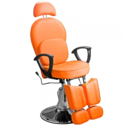 Кресло педикюрное ЭКОНОМ (Оранжевое)