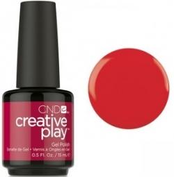 Гель лак CND Creative Play™ Gel Polish цвет On A Dare 15 мл (ярко-красный) №413