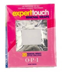 Замотки для снятия гель-лака OPI Expert Touch Removal Wraps, 20 шт.