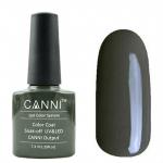 Гель лак CANNI Gel Color Polish 7,3 мл (Чёрно-оливковый) №156
