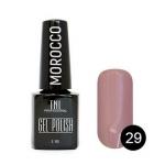 "Гель лак TNL ""Morocco"" 6 мл (Розовый фламинго) №029"