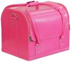 TNL кейс маникюриста розовый (гладкая кожа)