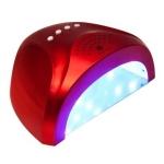 """УФ/LED - лампа """"Sunlight"""" для сушки гелевых покрытий 48Вт/24Вт красная"""