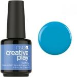 Гель лак CND Creative Play™ Gel Polish цвет Aquaslide 15 мл  (голубой) №493