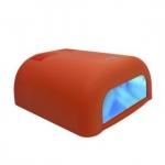 """УФ - лампа """"Велюр"""" для сушки гелевых покрытий 36Вт с таймером (120 сек) оранжева"""