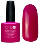 CND Shellac цвет Rose Brocade 7,3 мл (Яркая фуксия)№622