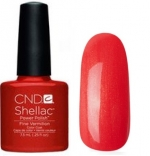 CND Shellac цвет Fine Vermilion 7,3 мл (Красно-оранжевый)№624