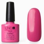 CND Shellac цвет Hot Pop Pink 7,3 мл. (ярко розовый благородный)№19