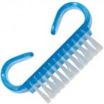 Щеточка для ногтей с изогнутыми ручками маленькая