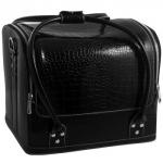 Cумка-чемодан черная Crocodile