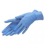 Перчатки нитриловые, особопрочные, текстурированные размер L (100 шт)