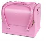 TNL кейс маникюриста розовый (плетенка)
