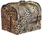 TNL кейс маникюриста леопардовый (кожа)