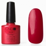 CND Shellac цвет Hollywood, 7,3 мл. (красный с микроблестками)