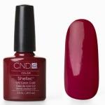 CND Shellac цвет Decadence 7,3 мл. (темно красный)№25