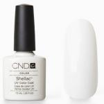 CND Shellac НОВИНКА!! Studio White 7,3 мл (белый молочный)
