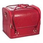 Cумка-чемодан красная Crocodile