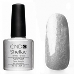CND Shellac цвет Silver Chrome 7,3 мл (серебро с микроблестками)№32