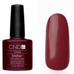 CND Shellac цвет Dark Lava 7,3 мл (темнобордовый, темно-черешневый)№37