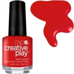 CND Creative Play лак для ногтей Red-y To Roll №412