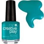 CND Creative Play лак для ногтей Head Over Teal №432