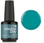 Гель лак CND Creative Play™ Gel Polish цвет Head Over Teal 15 мл (бирюзовый)№432