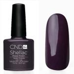 CND Shellac цвет Vexed Violette 7,3 мл(серебристо-сиреневый перламутровый)№45