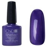 CND Shellac цвет Grape Gum 7,3 мл (фиолетовый с микроблестками)№045