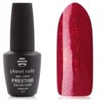 Prestige гель лак 10 мл (Темный красный с микроблестками) №546