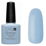 CND Shellac цвет Azure Wish 7,3 мл (нежно голубой, эмалевый)№55