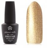 Prestige гель лак 10 мл (Золотой с микроблестками) №568