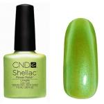 CND Shellac цвет Limeade 7,3 мл (нежносалатовый с микроблестками)№58