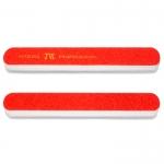 Пилка со спонж-вставкой BROAD CORNERS 80/80, 1 шт (красная)