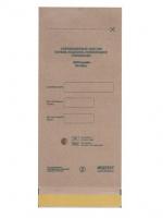 Крафт пакеты для стерилизации 100*250мм (100шт в уп) серые
