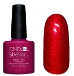 CND Shellac цвет Tartan Punk 7,3 мл (красный алый) №876