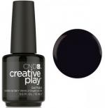 Гель лак CND Creative Play™ Gel Polish цвет Black Forth 15 мл (черный) №451