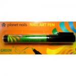 Карандаш для дизайна Nail Art Pen зеленый