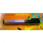 Карандаш для дизайна Nail Art Pen, пурпурный