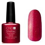 CND Shellac цвет Ruby Ritzn 7,3 мл (красный с блестками) №91030