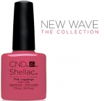 CND Shellac цвет Pink Leggings, 7,3 мл. (Розовый) №91404