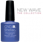 CND Shellac цвет Blue Eyeshadow, 7,3 мл. (Синий) №91406