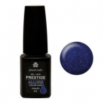 Prestige «Allure» гель лак 8 мл (Темный синий, с блестками) №639