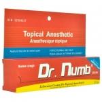 """Крем-анестетик """"Dr.Numb"""" (""""Доктор Намб"""") красный, 30 мл"""