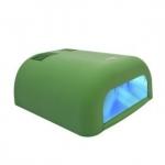 """УФ - лампа """"Велюр"""" для сушки гелевых покрытий 36Вт с таймером (120 сек) зеленая"""
