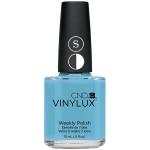 Лак VINYLUX CND №102 Azure Wish (нежно голубой)