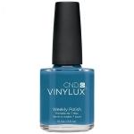 Лак VINYLUX CND №162 Blue Rapture (темно голубой)